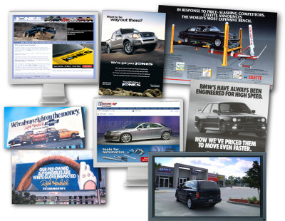 Automotive advertising and marketing experience