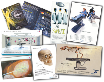 Medical device advertising and marketing experience