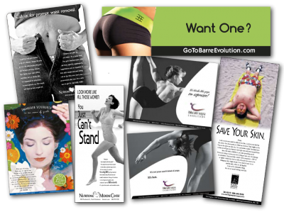 Wellness & Fitness advertising and marketing experience